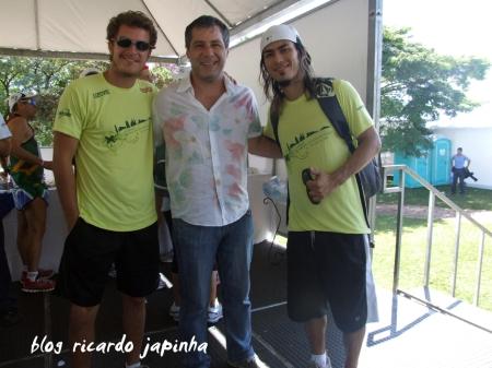 Paulo Nigro, Leopoldo Pacheco e Japinha